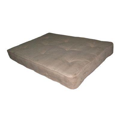 "Independently Encased Coil Premium 8"" Full Size Futon Mattress Color: Tan - http://delanico.com/futons/independently-encased-coil-premium-8-full-size-futon-mattress-color-tan-589938945/"
