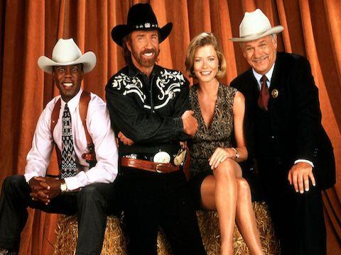 James Trevett, Cordell Walker, Alex Cahill, C.D.Parker- Walker, Texas Ranger