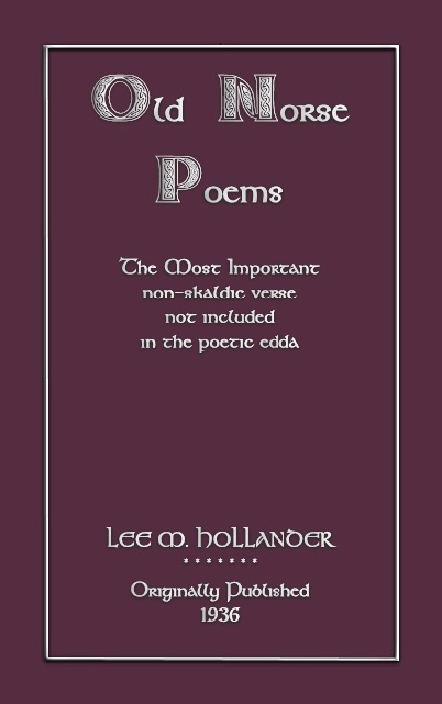 the poetic edda essays on old norse mythology The essay views the position of the woman generally, clears up her possible  social  as my knowledge of the old norse language is poor, the conclusions  are  goddess and possesses the most important functions for both gods and  men.