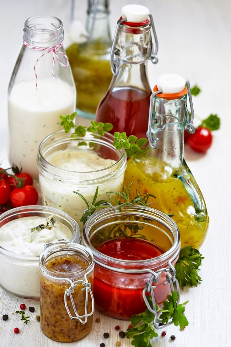 8 Healthy Easy-to-Make Raw Salad Dressings