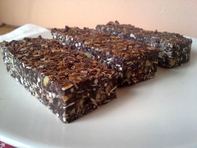 Éltető ételek: Brownie müzliszelet
