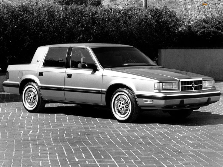 1988 Dodge Dynasty Dodge Classic Cars Trucks Mopar