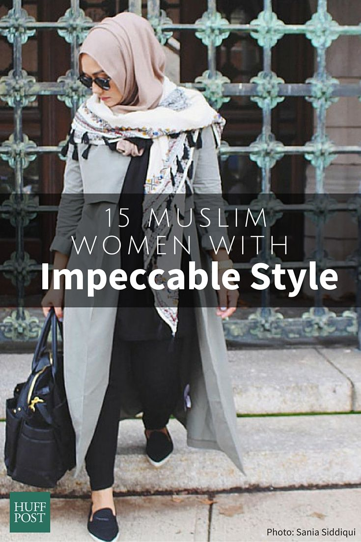 Here are 15 women who were making waves in the Muslim fashion world long before Dolce and Gabbana got in the game with their new line of hijabs and abayas.