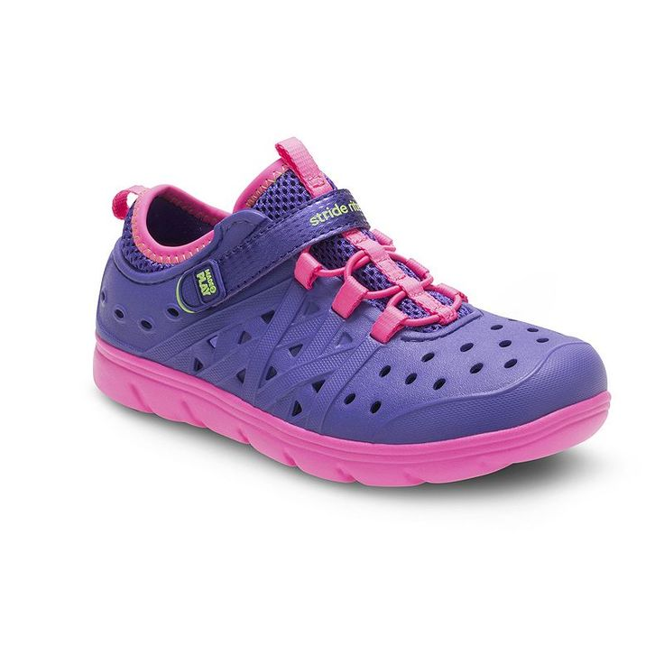 Stride Rite Made 2 Play Phibian Girls' Water Shoes, Purple