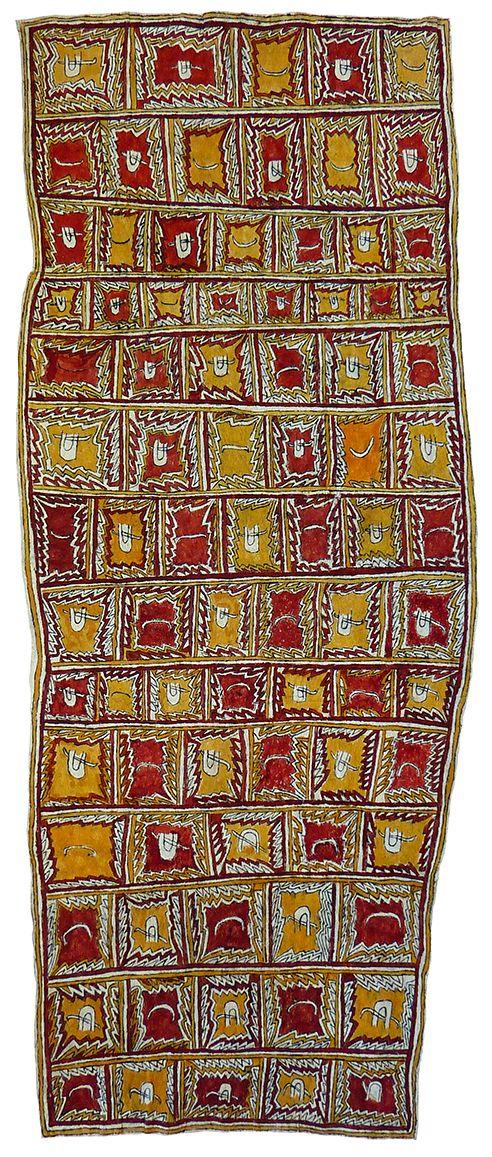 Diona Jonevari (Suwarari) - Pig tusk jewellery (customary wealth), eel bone jewellery for initiation nasal septum piercings, ?mie mountains and beaks of the Papuan Hornbill http://www.aboriginalsignature.com/arttapapapuanewguineaomieindigenous/diona-jonevari-suwarari-pig-tusk-jewellery-customary-wealth-eel-bone-jewellery-for-initiation-nasal-septum-piercings-mie-mountains-and-beaks-of-the-papuan-hornbill