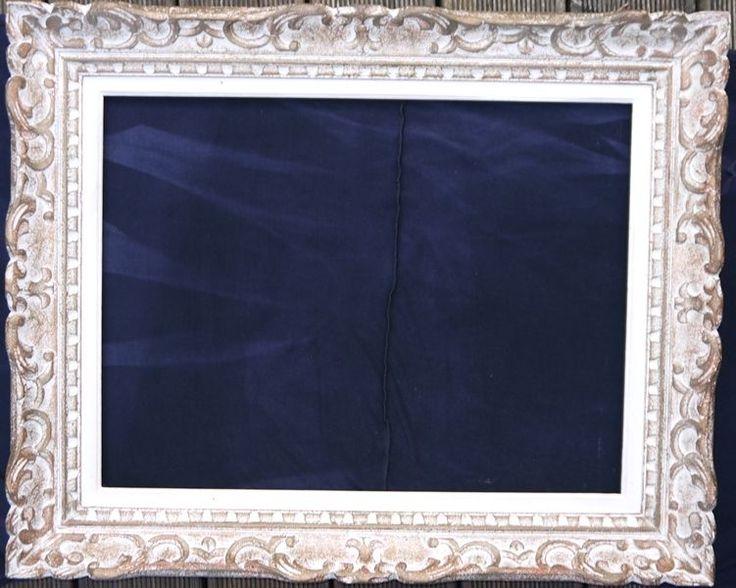 Ancien Cadre Tableau Montparnasse 1930 12P Feuillure 61.5x46.5 cm n°16 Art Déco