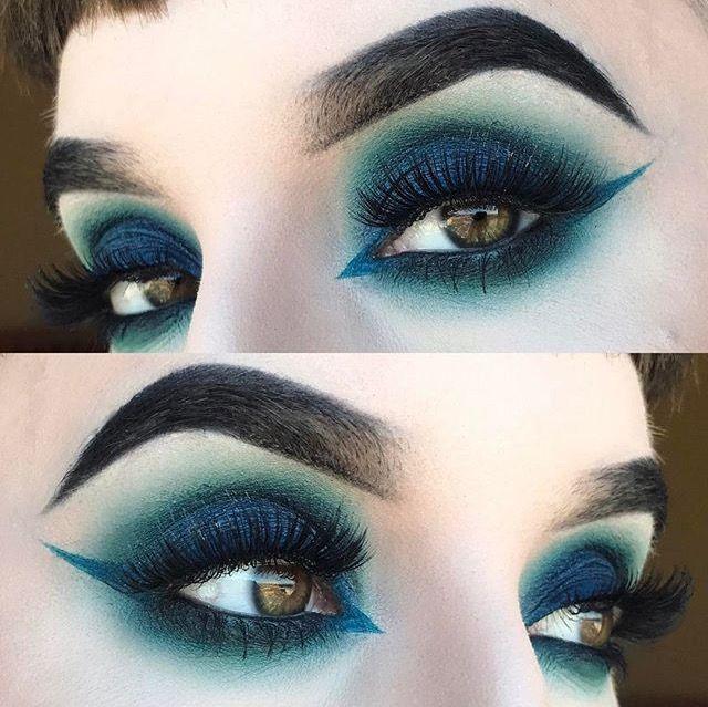 Die besten 17 ideen zu lidschatten blaue augen auf for Smokey eyes blau