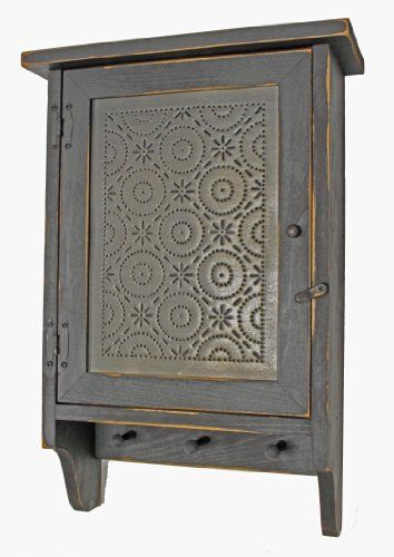 Cabinet - Country Rustic Primitive Wood Cabinet Old Mill Tin Panel KCW http://www.amazon.com/dp/B008Z47IYO/ref=cm_sw_r_pi_dp_AYiOwb1P0QQSF