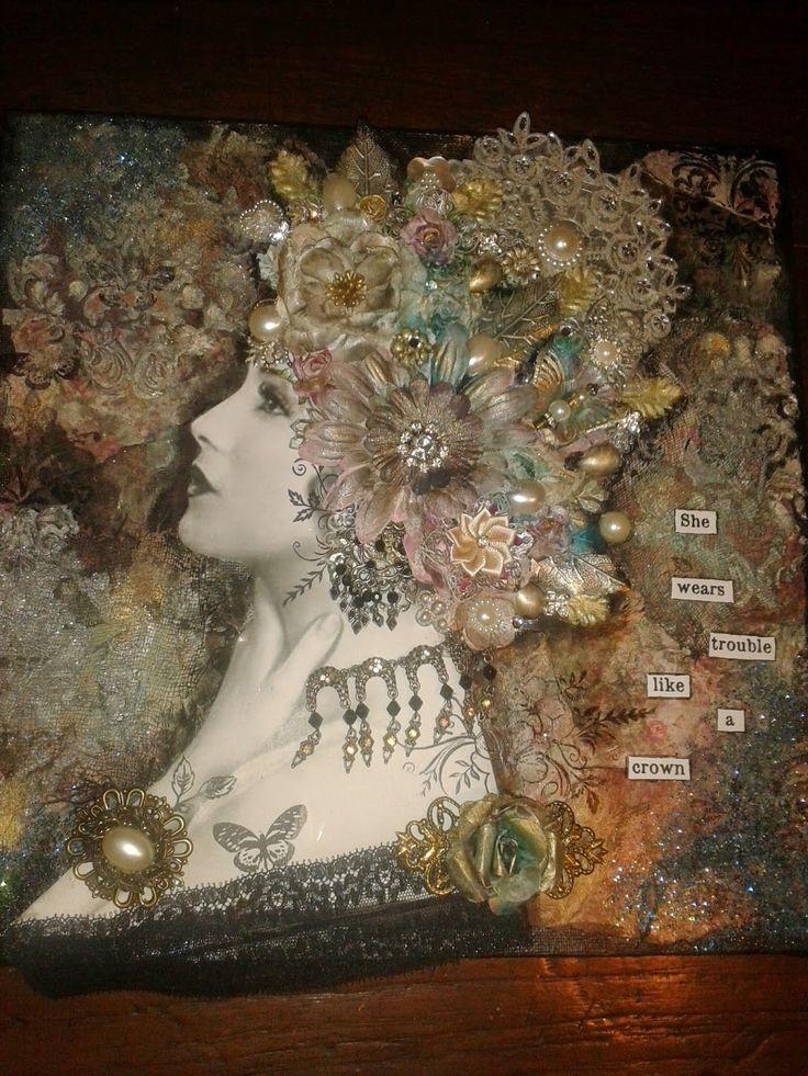 Pin by Joanne Browne on Mixed media love!! | Finnabair ...