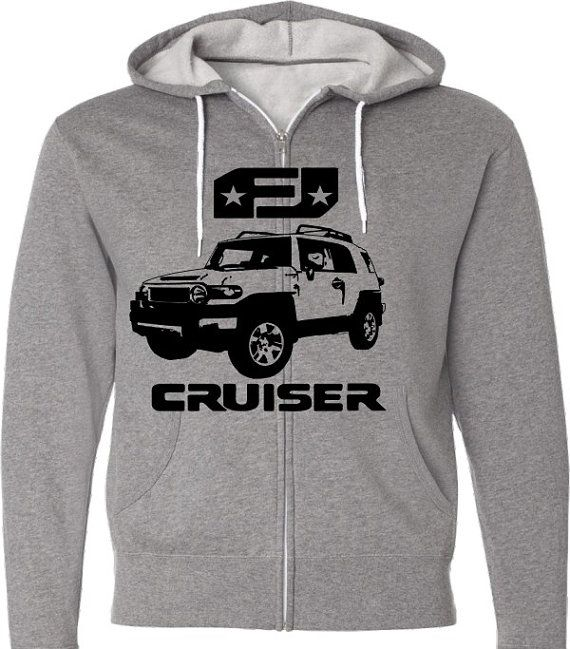 FJ Cruiser Car Shirt-Sport Utility Retro Classic  by SpokeNwheelz