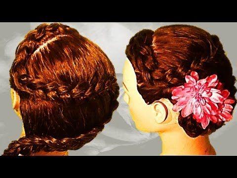 M TRENZA francesa en forma de S peinado de moda - YouTube