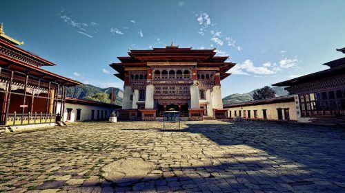 Punakha Dzong - Bhutan Tourism from India