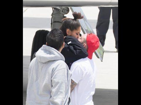 Ariana Grande 'praying for Manchester' as she reunites with boyfriend Ma...