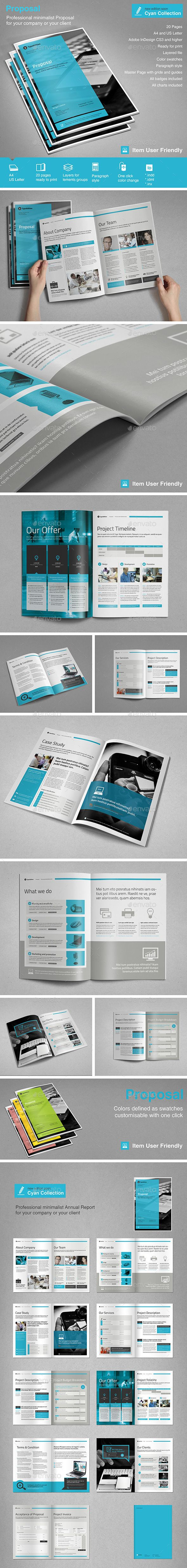 Proposal by TypoEdition Proposal. This is a modern and powerful template for a Proposal.20 pages possibility of creating many unique spreads. Features Ado