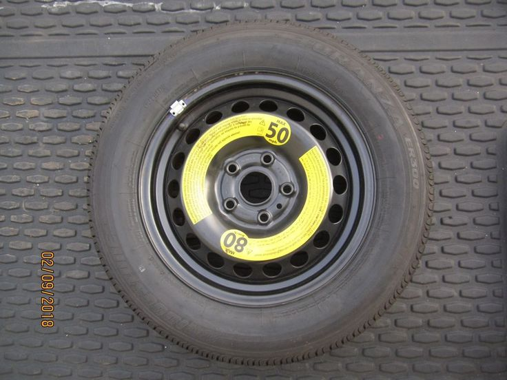 2005-17 Volkswagen JETTA  GOLF BETTLE   Spare Tire Wheel Bridgestone 195/65 R15  #Volkswagen