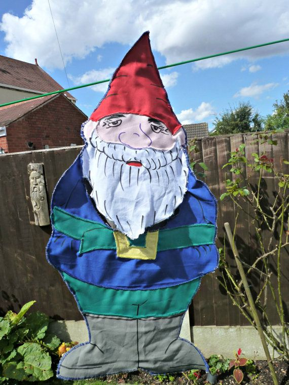 Handmade peg bag gnome peg bag present all by KelwayCraftsYorkshir, £6.93