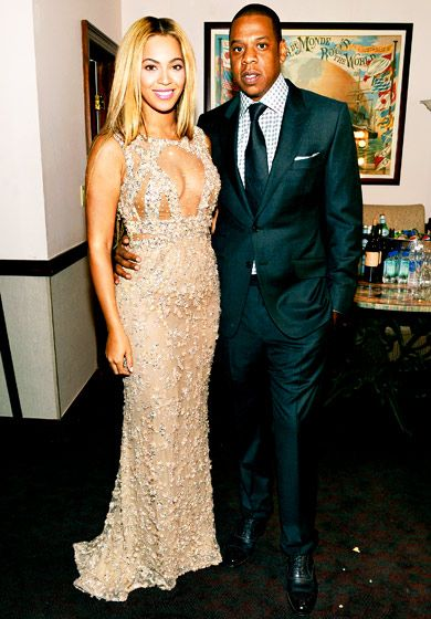 Beyonce and (a very proud) Jay-Z glow at the New York premiere of Beyonce's HBO documentary