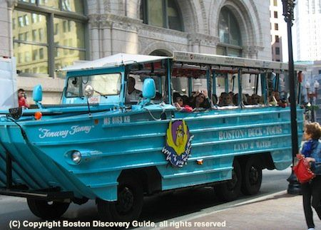 Find out why Boston Duck Boat Tours are so much fun