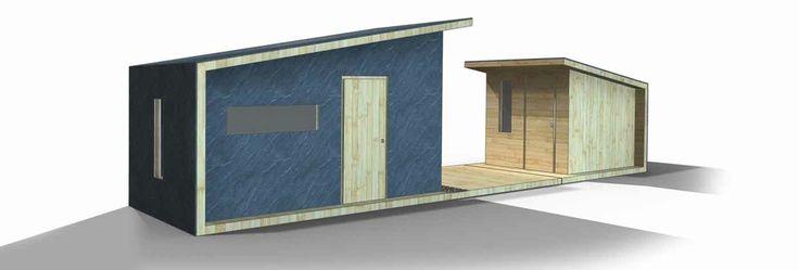 Diseño de bungalows de madera #arquitectura #bungalows #madera