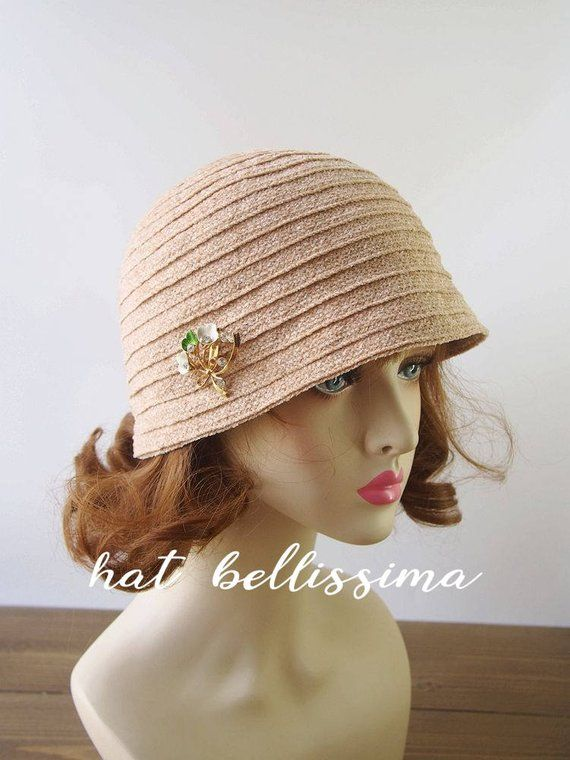 f82a5711b96 SALE 1920 s Hat Vintage Style hat winter Hats hatbellissima ladies hats  millinery hats