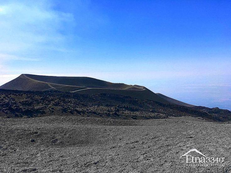 Volcanic desert of Mount Etna... 🌋