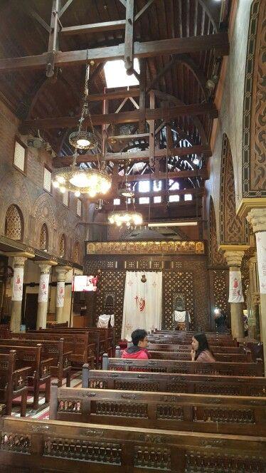 The Hanging church Cairo
