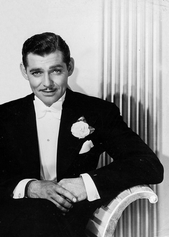 "Clark Gable in ""Forsaking All Others"", 1934."