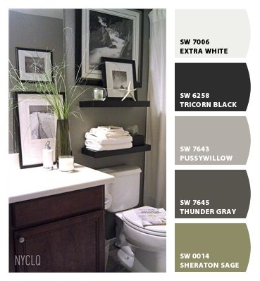 Gray Wall Is Sw 7643 Pussywillow Paint Colors
