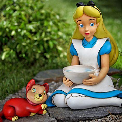 9 best images about alice in wonderland garden on - Alice in wonderland garden statues ...