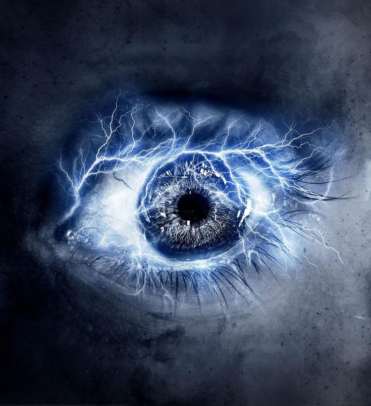 Eye Elements, Lightning by Rick Sandoval