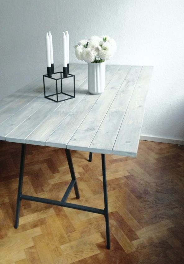 A NEW DINING TABLE DIY | homesick