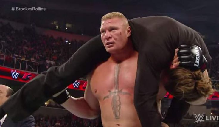 Brock Lesnar returns to Monday night RAW