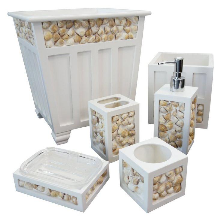 Photos Of Best Seashell bathroom ideas on Pinterest Seashell bathroom decor Ocean bathroom and Ocean bathroom themes