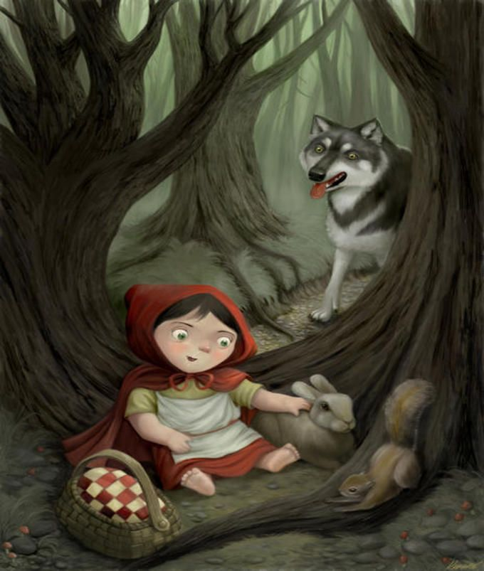 The story of little red riding hood the most sexualized fairy tale character of walt disney