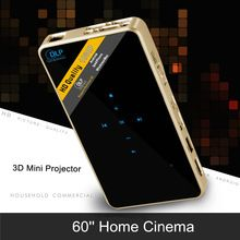 Mini LED Handheld Pocket WIFI DLP Lamp 3D Projector Smart Lumen HDMI for IOS Android Home Cinema HD