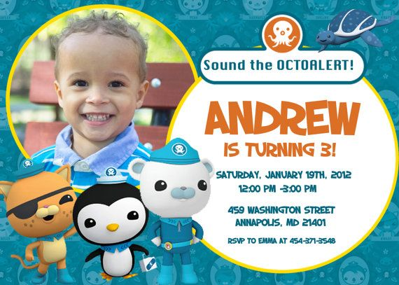 84 best images about Octonauts Birthday Party on Pinterest ...