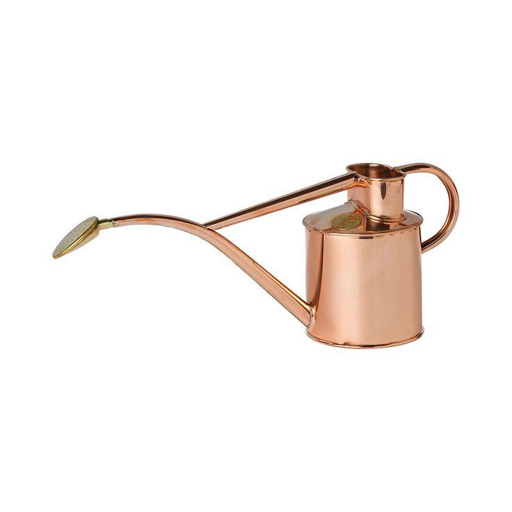 Copper Watering Can in Garden+Outdoor GARDEN Tools+Accessories Watering at Terrain