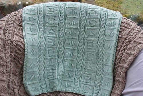 Baby Blanket Knitting Patterns Debbie Bliss : Ravelry: ABC Blanket pattern by Debbie Bliss Knitting For Baby Pinterest ...