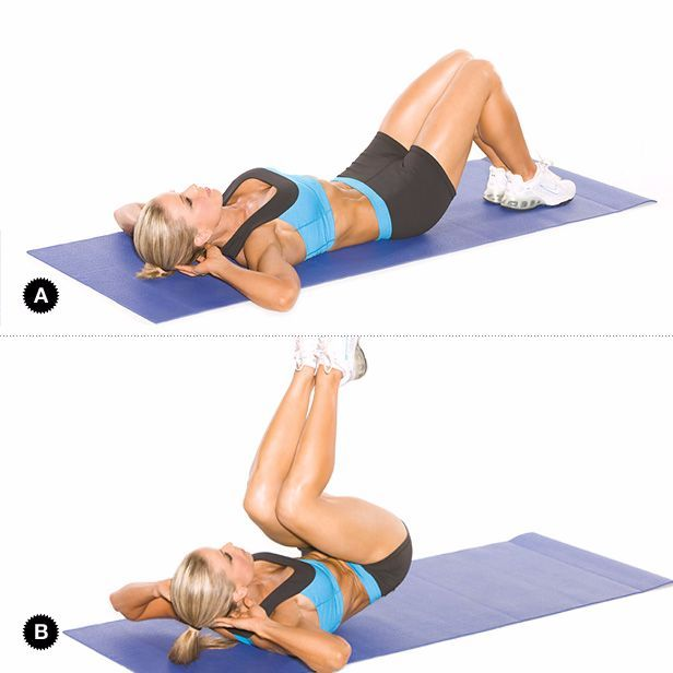 """Pravdou je, žesklapovačkynejsou nejvíce vzrušující cvičení, a někdynejsou ani nejefektivnější.Takže je čas, abyste vyhodili svůj starý trénink plný sklapovaček a přijali příjemnější způsob, jak vytvořitvyrýsovaný střed těla.Většina tréninku se zaměřuje výhradně na budování """"six packu"""", ale ve"""
