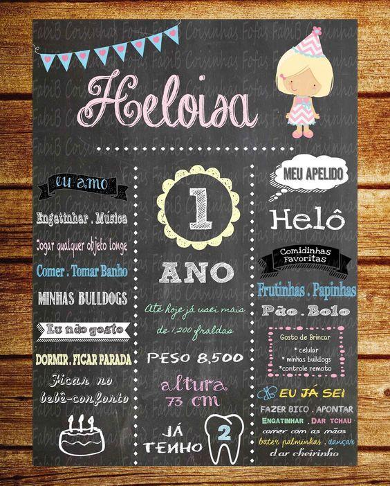 Como fazer um Quadro Chalkboard para o Bebé