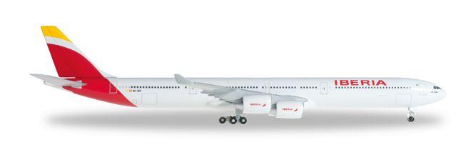 1/500 Herpa Iberia Airbus A340-600