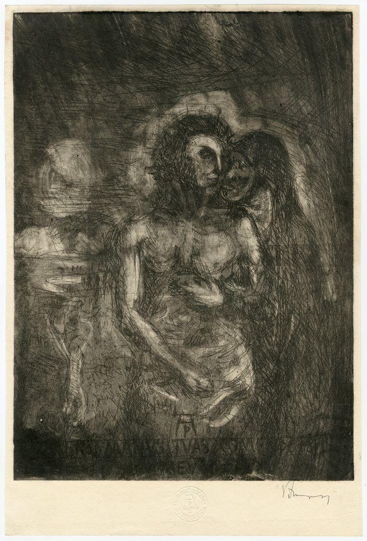 Mrtvý Kristus je podpírán svou matkou - Dead Christ Supported by Madonna
