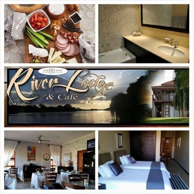 Emfuleni River Lodge in Vanderbijlpark, Set on the banks of the Vaal River, this casual low-rise guesthouse is 2 km from the Emerald Resort & Casino. Featuring river views, the 8 subdued rooms come with free Wi-Fi, satellite TV and minifridges, plus tea and coffee-making facilities. The en suite bathrooms have heated floors. There is no air-conditioning. Where2Stay.