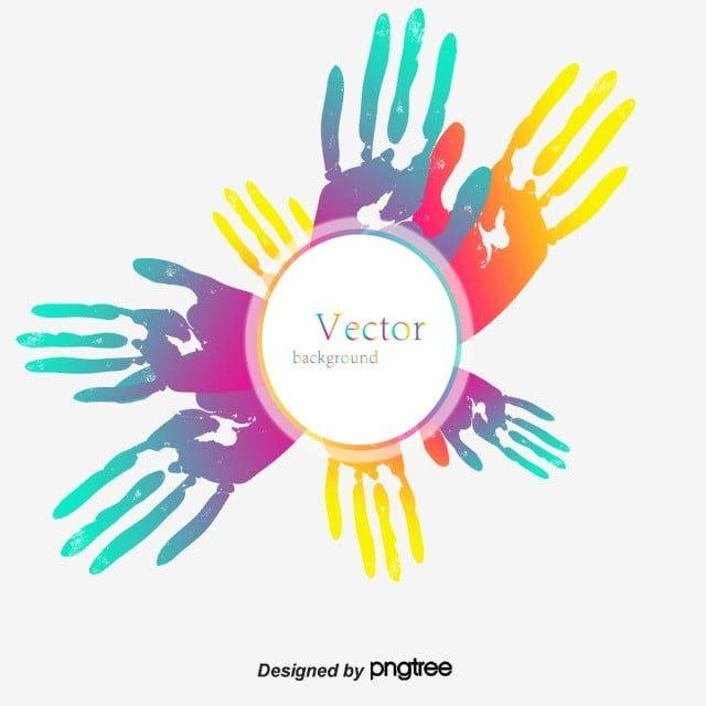Vector Handprint Handprint Clipart Handprint Png Transparent Clipart Image And Psd File For Free Download Hand Sketch Vector Watercolor Splash
