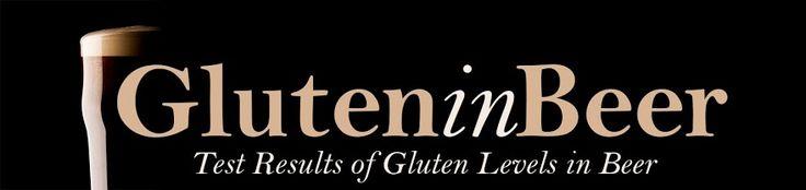 Low-gluten Beers:  PBR, Modelo Especial, Negro Modelo, Corona, Coors Light