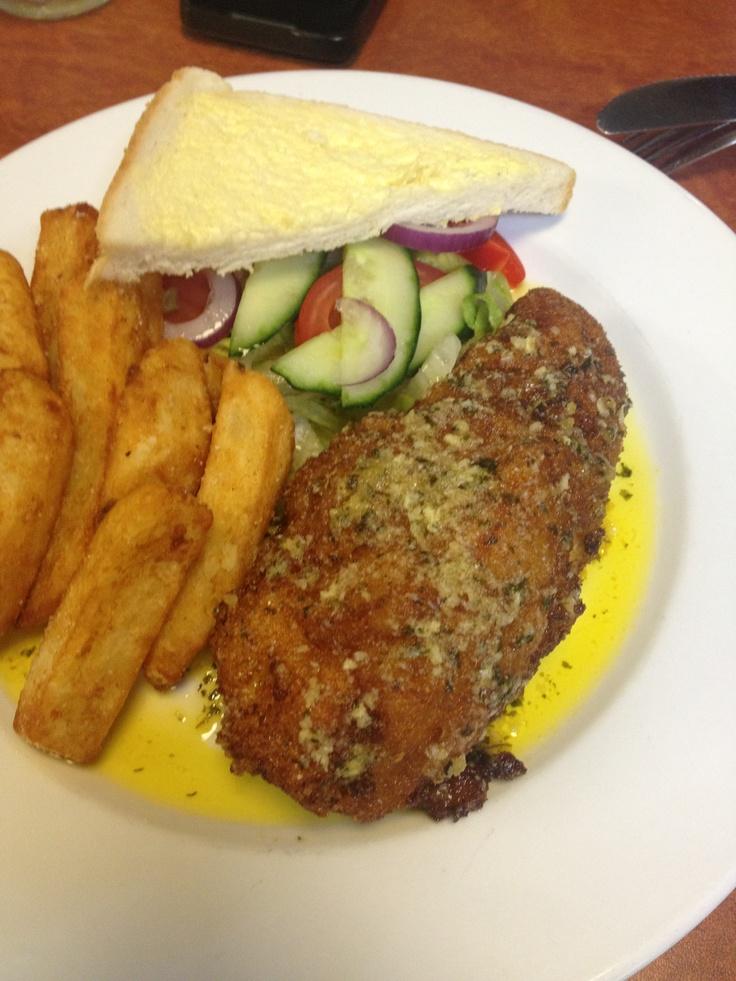 chicken kiev at The Valley Inn