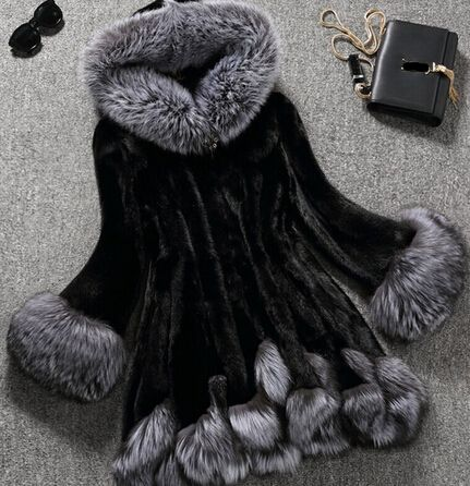 Cheap coat pvc, Buy Quality coats mercer crochet cotton directly from China coat waist Suppliers: 6XL 5XL Faux fur coat Cheap mink fur hooded outerwear medium-long fox fur autumn winter hat overcoat manteau fausse four