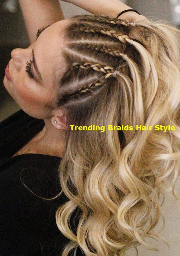 22 cute braid hairstyles – braids hair down…
