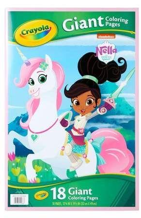 Crayola Nella the Princess Knight Coloring Book #Princess#Nella ...