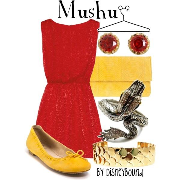 Mushu by DisneyBound